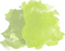 green paint splotch