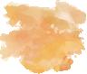 golden paint splotch