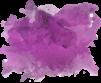 dark purple paint splotch