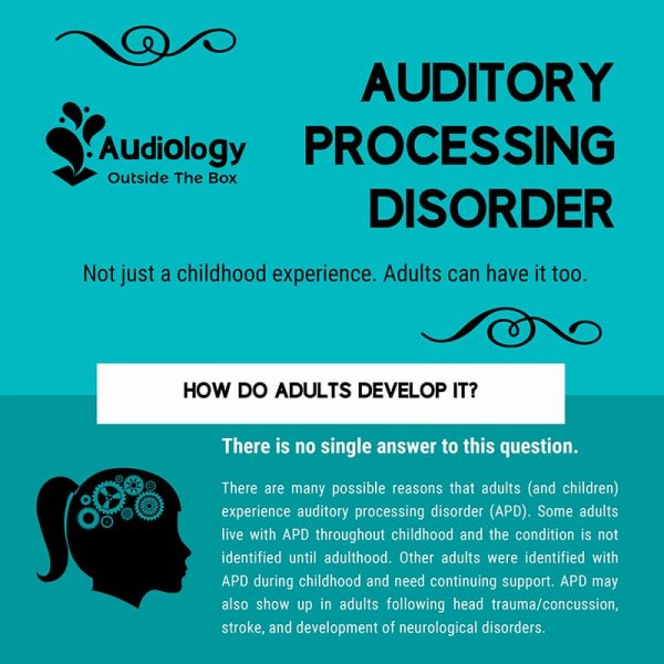 Auditory Processing Disorder for Adults