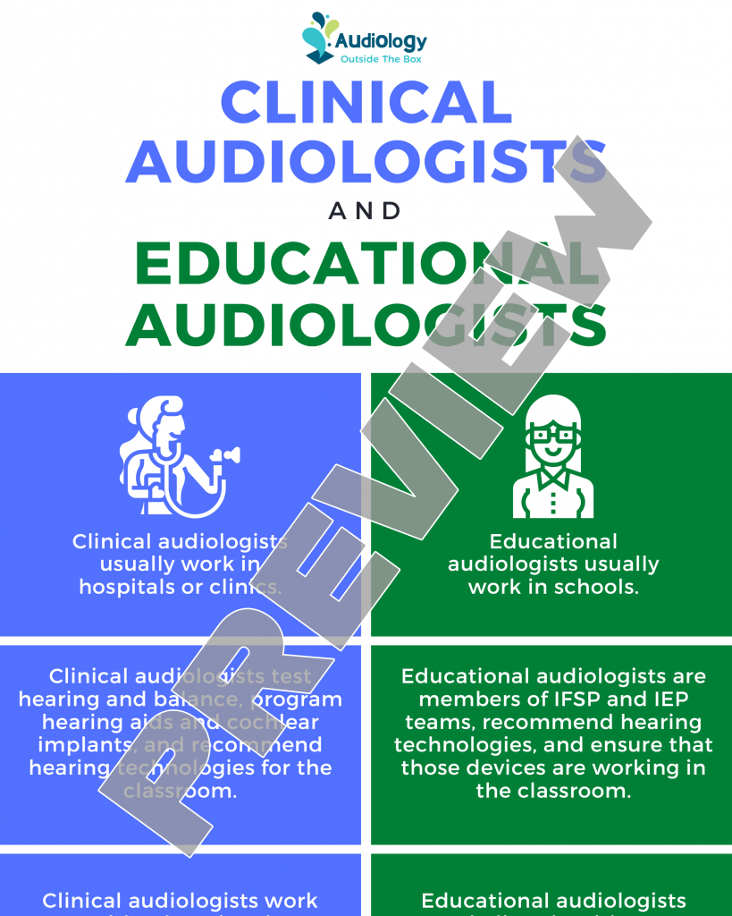 Clinical Audiologists and Educational Audiologists
