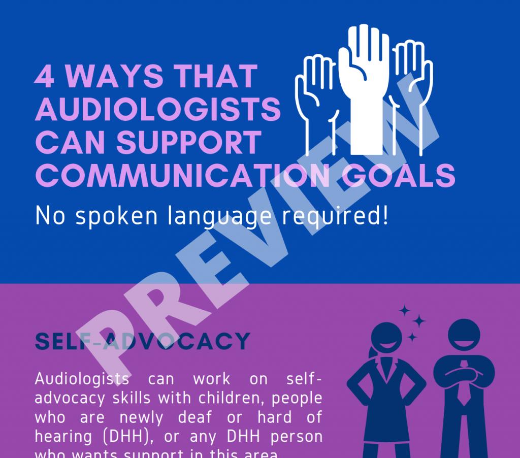Communication Goals No Spoken Language Required