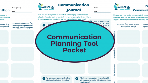 Communication Planning Tool Packet