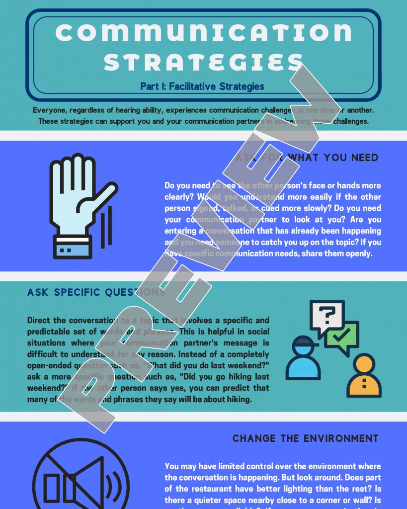 Communication Strategies Part 1: Facilitative Strategies