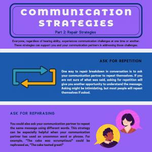 Communication Strategies Part 2: Repair Strategies