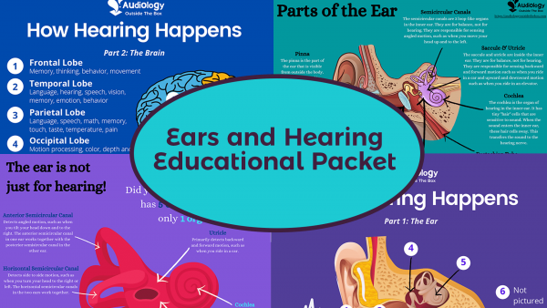Ears and Hearing Educational Packet