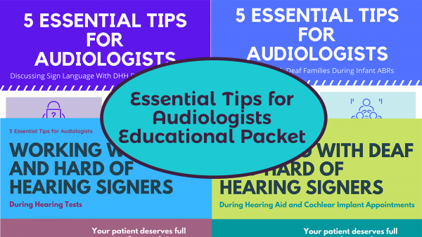 Essential Tips for Audiologists Educational Packet