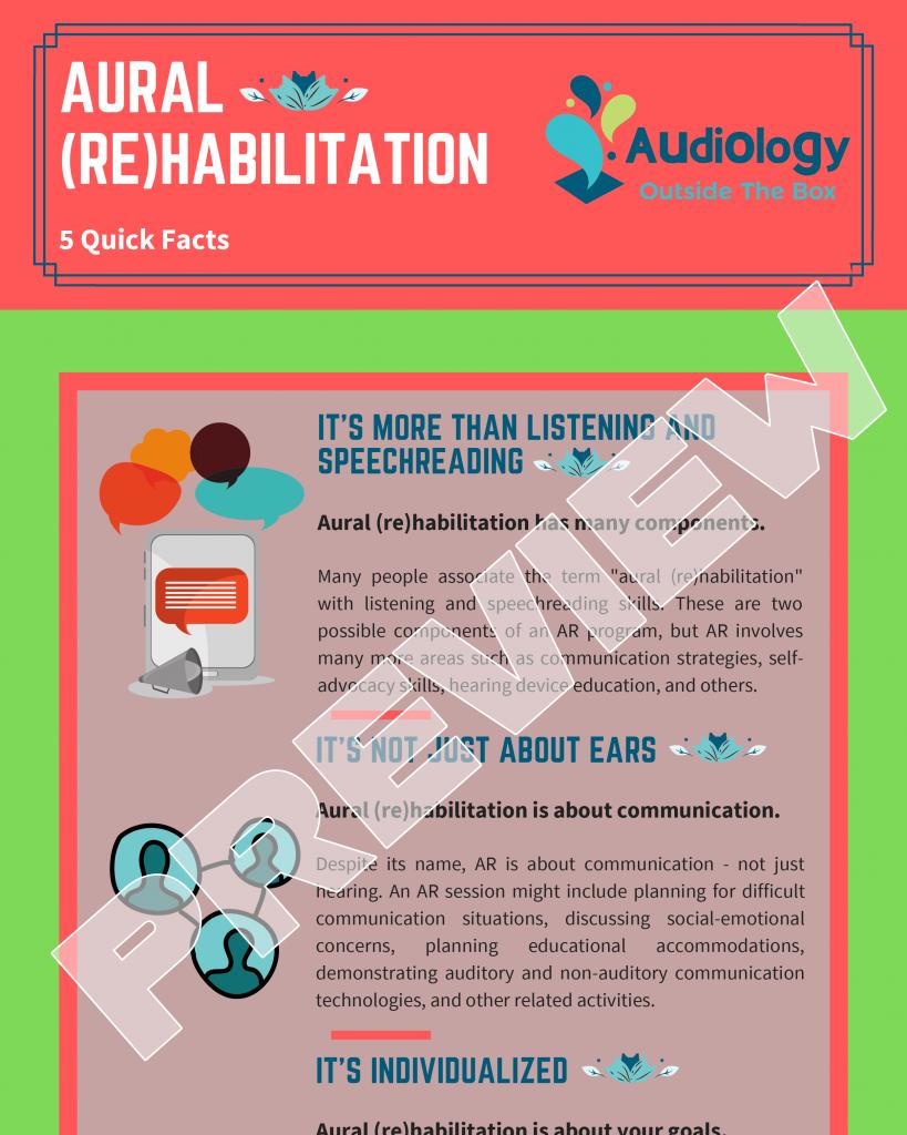 Aural (Re)habilitation: 5 Quick Facts