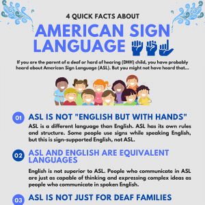 4 Quick Facts About American Sign Language