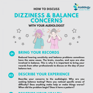 How to Discuss Dizziness and Balance Concerns With Your Audiologist