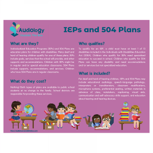 IEPs and 504 Plans