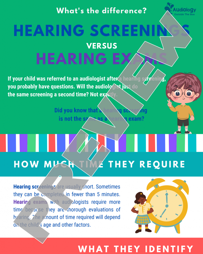 Hearing Screenings vs. Hearing Exams