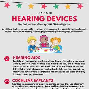 3 Types of Hearing Devices That Deaf and Hard of Hearing Children Might Use