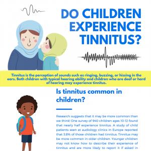 Do Children Experience Tinnitus?