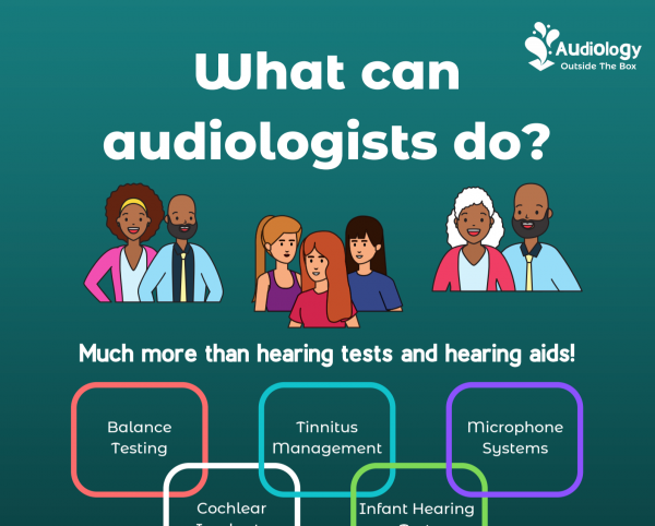 What can audiologists do?