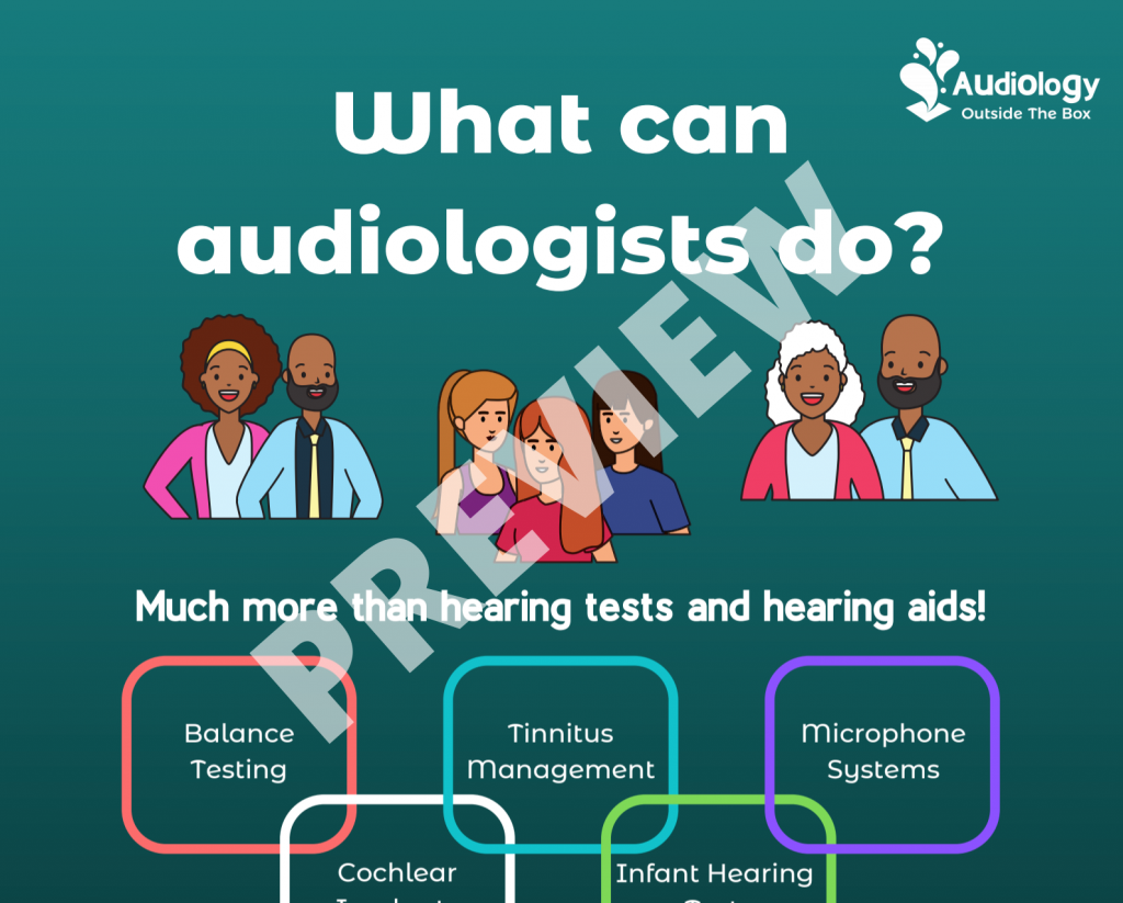 What can audiologists do? Preview