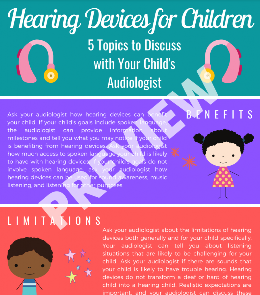 Hearing Devices for Children Preview