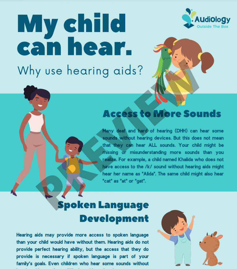 My child can hear. Why use hearing aids? preview